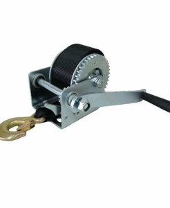 600LBS MANUAL ZINC WINCH WITH BELT
